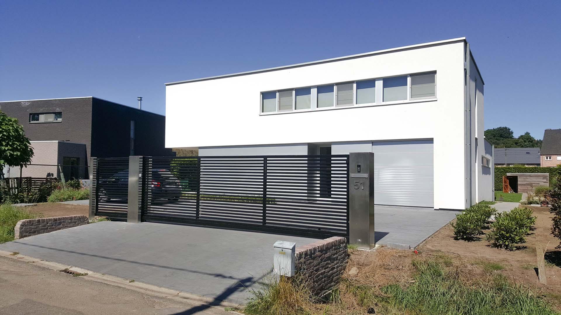 Moderne poorten limburg - Metaaldesign Bringmans